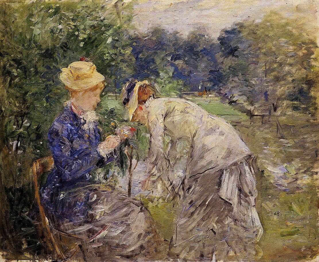 """""""W Lasku Bolońskim"""" - Berthe Morisot"""